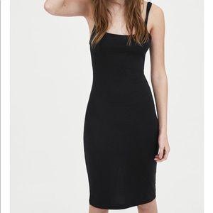 Zara olive body con dress trafaluc size medium